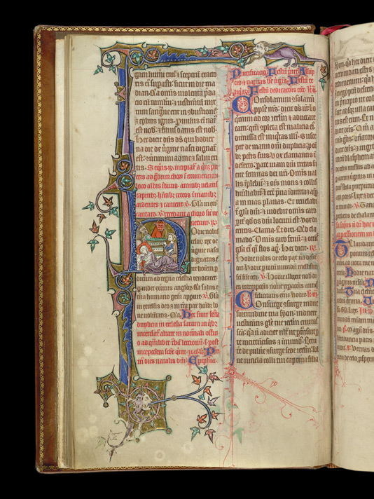 Prayers and Hymns for Christmas Day, in the Stowe Breviary
